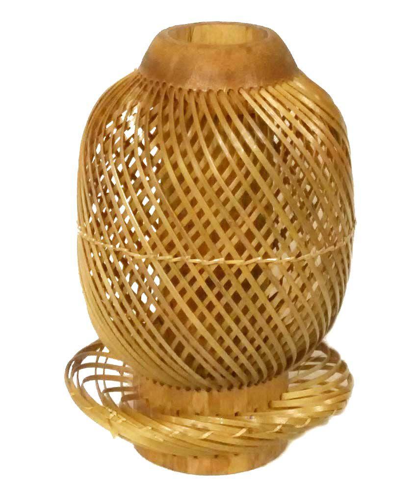 Crafts arts brown bamboo flower vase buy