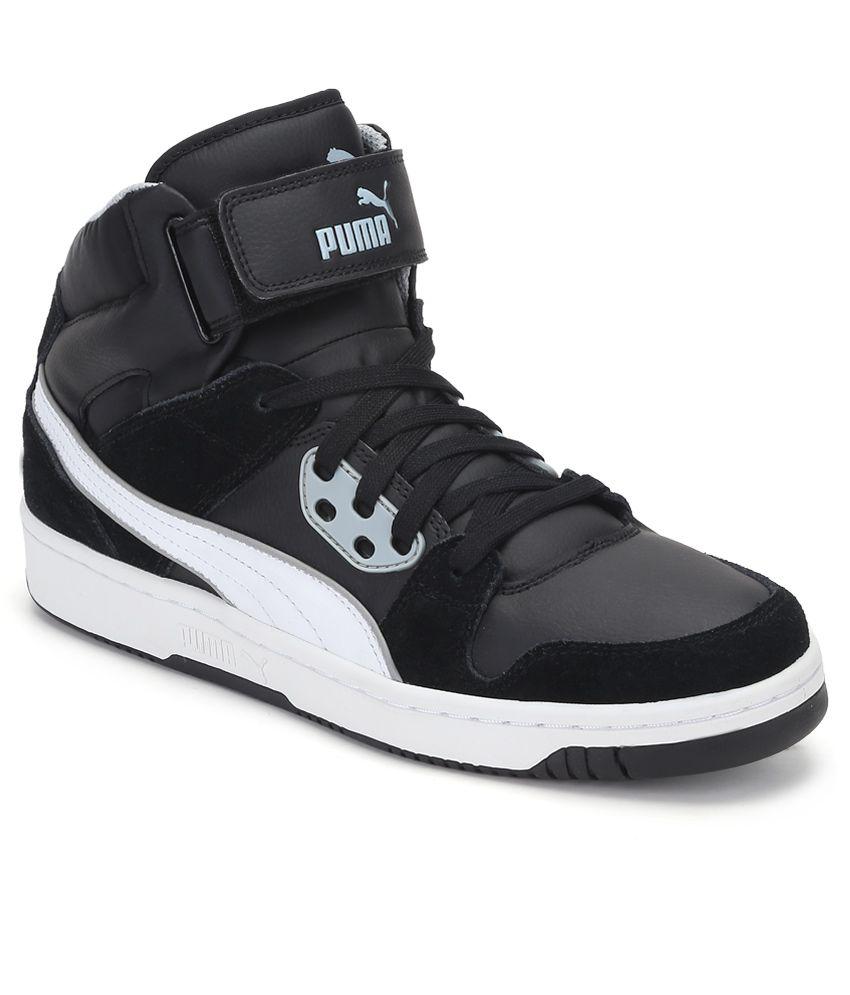 Puma Rebound Street Black Casual Shoes