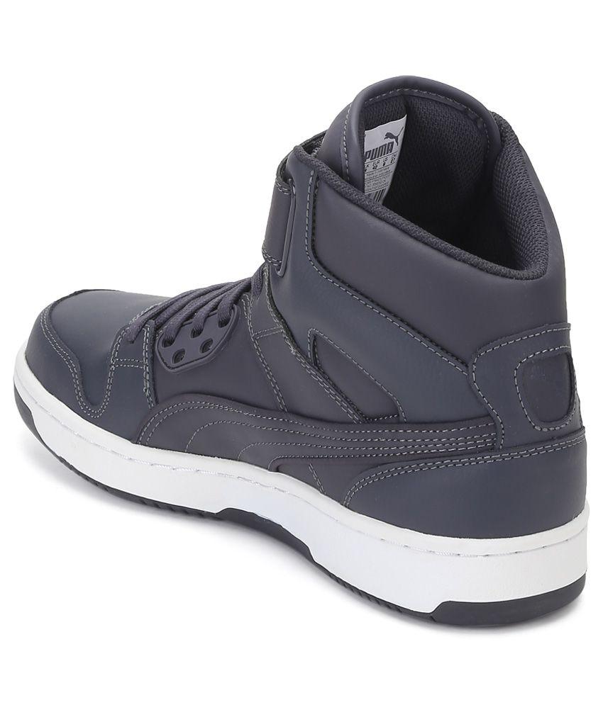 ba9b4ac05ca0 Puma Rebound Street Grey Casual Shoes - Buy Puma Rebound Street Grey ...
