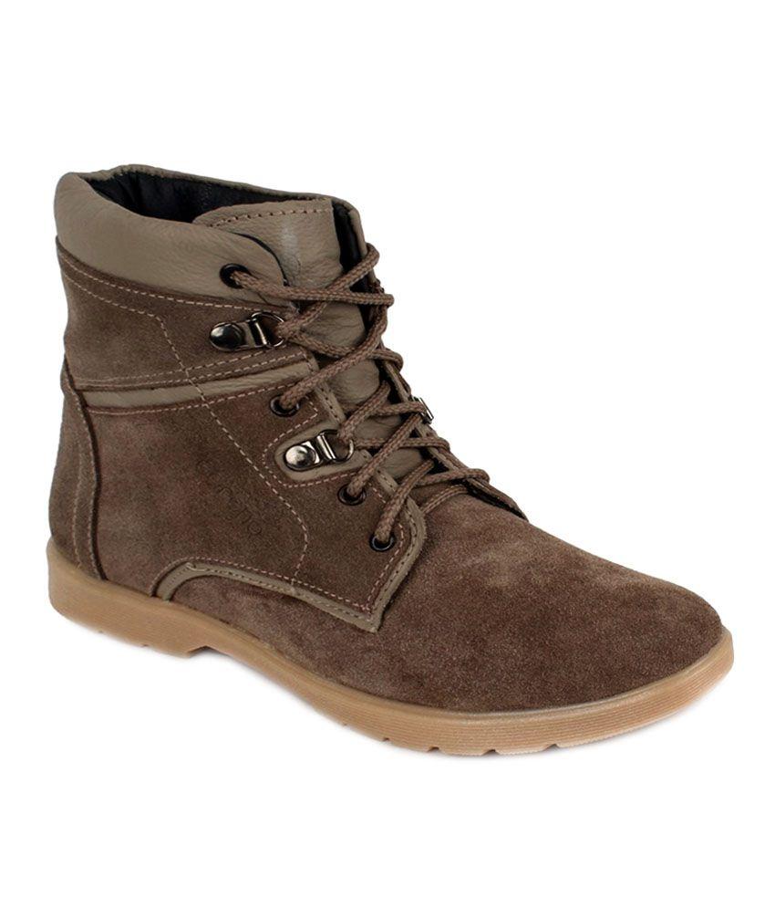 Adreno Navy Boots