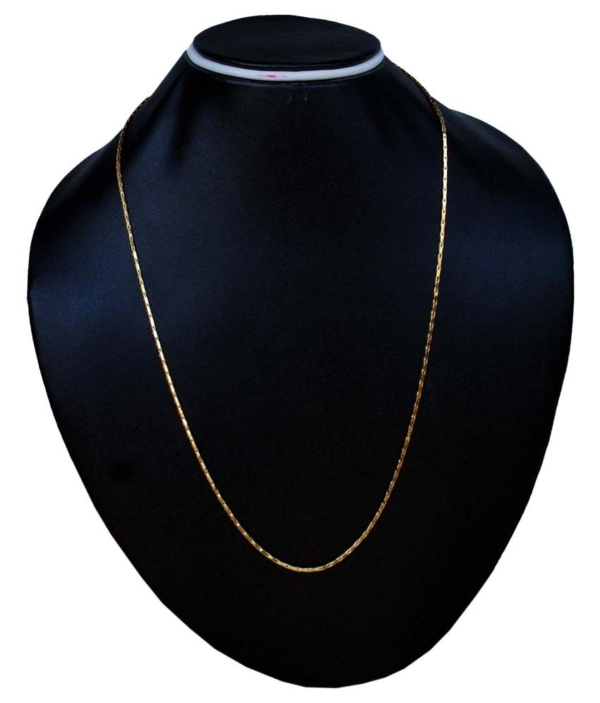 Aksha Gold Plated Chain