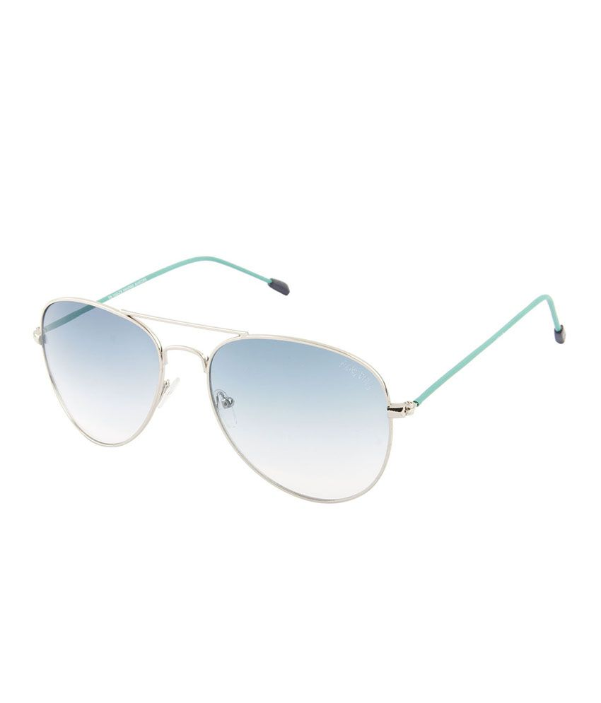Funky Boys 1040 Green Aviator Sunglass For Unisex