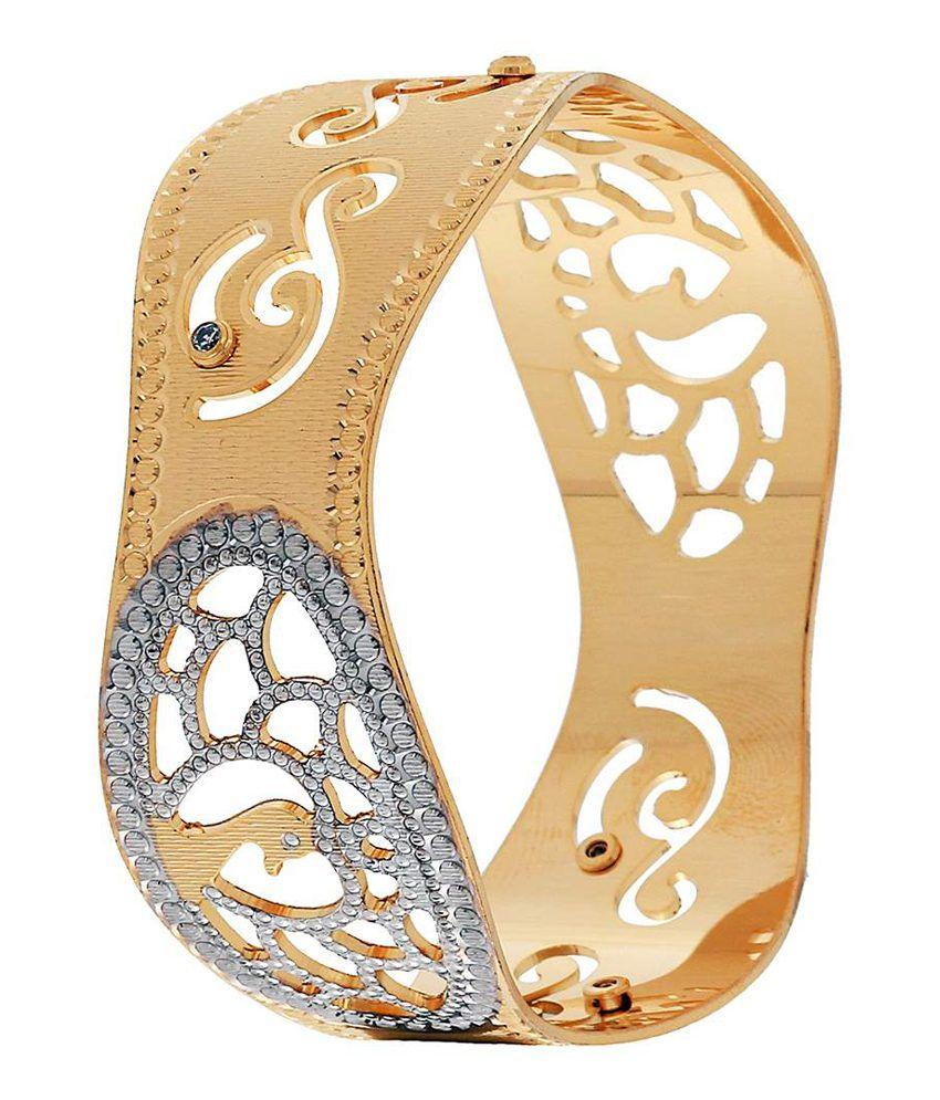 Jwells & More Golden Bracelet For Women