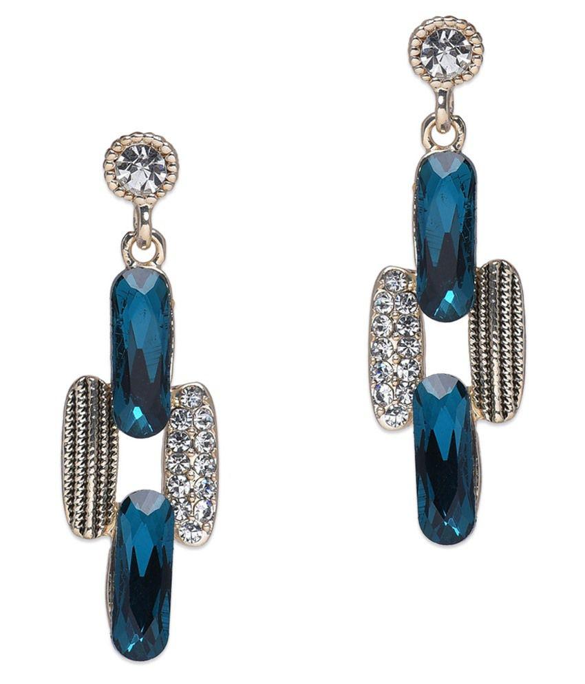 BGS Multicolour Alloy Drop Earrings