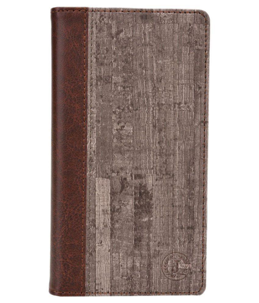 Jo Jo Flip Cover for LG G4 - Brown