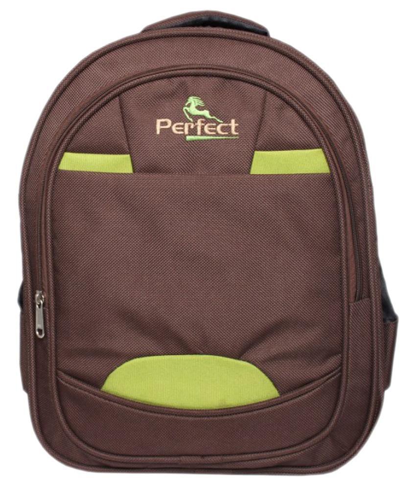 BBC Perfect Brown Kids School Bag