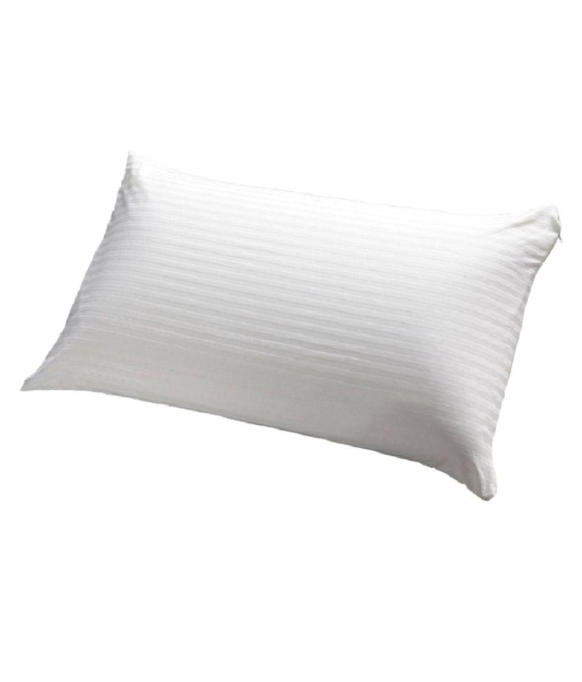 JDX White Fiber Pillow