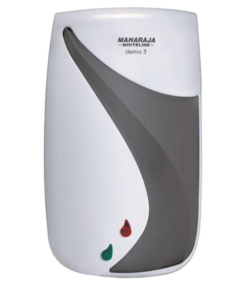 Bathroom water heater price - Maharaja Whiteline 3 Litres Clemio Water Heater White And Grey