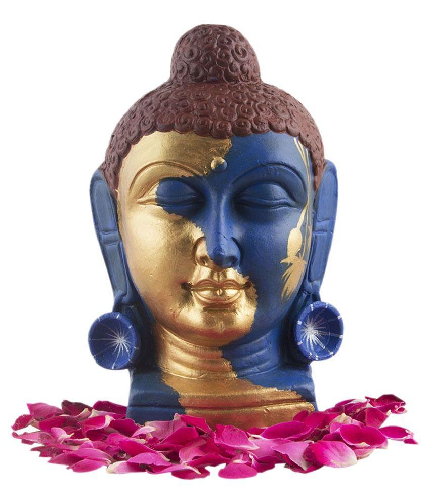 Indikala Buddha Terracotta Idol
