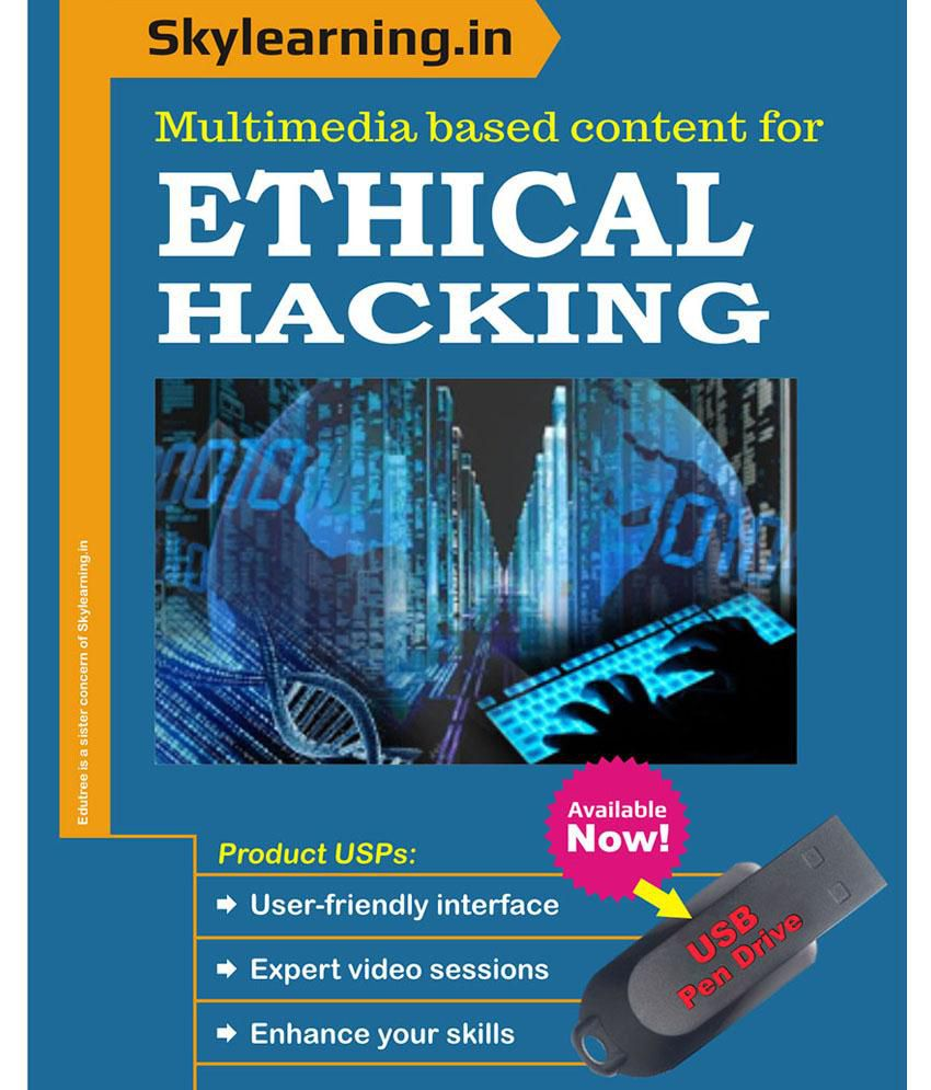 SKYLearning SKYLearning Learn Ethical Hacking - Multimedia Based Content  Pendrive Pen Drive