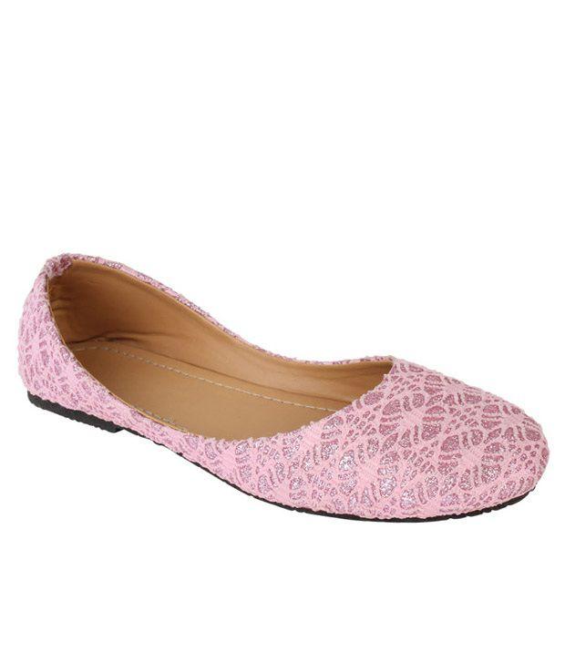 Authentic Vogue Pink Ballerinas