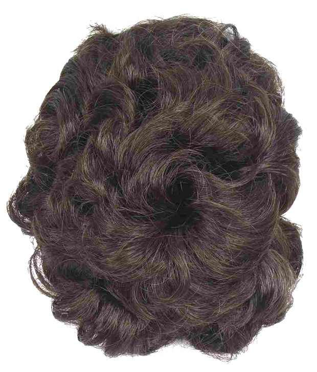 Out Of Box Funky Bun 4 Inch Hair Extension(Natural Brown)