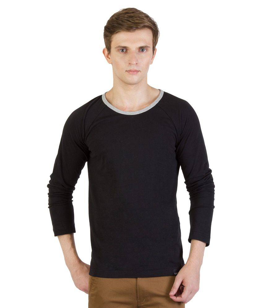 Rigo Black Cotton T - Shirt