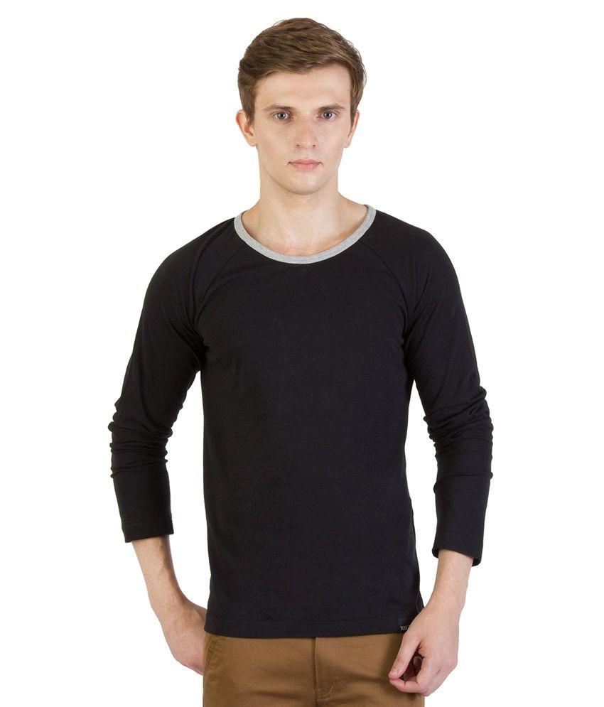 Rigo Black Cotton T - Shirt