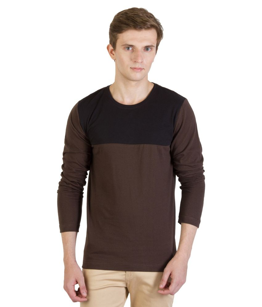 Rigo Brown Cotton T - Shirt