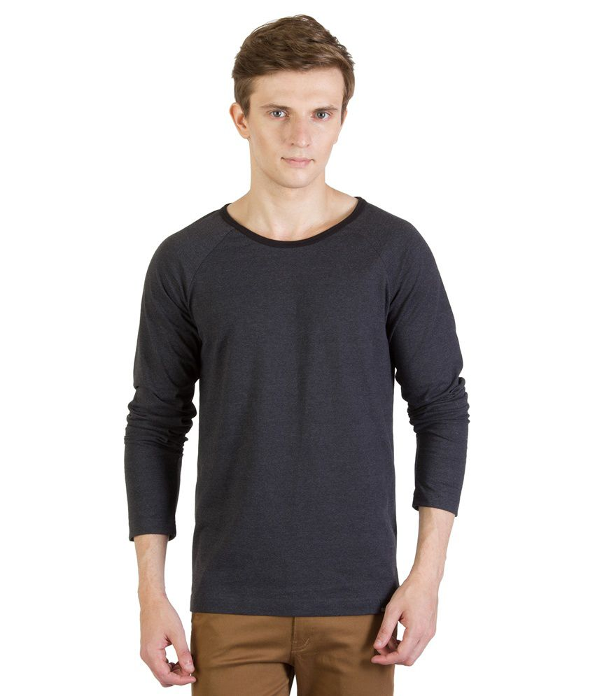 Rigo Gray Cotton T - Shirt