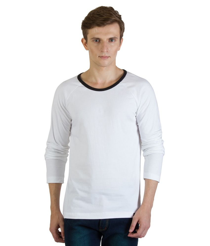 Rigo White Cotton T - Shirt