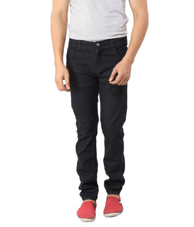 Scarlett Black Regular Fit Jeans