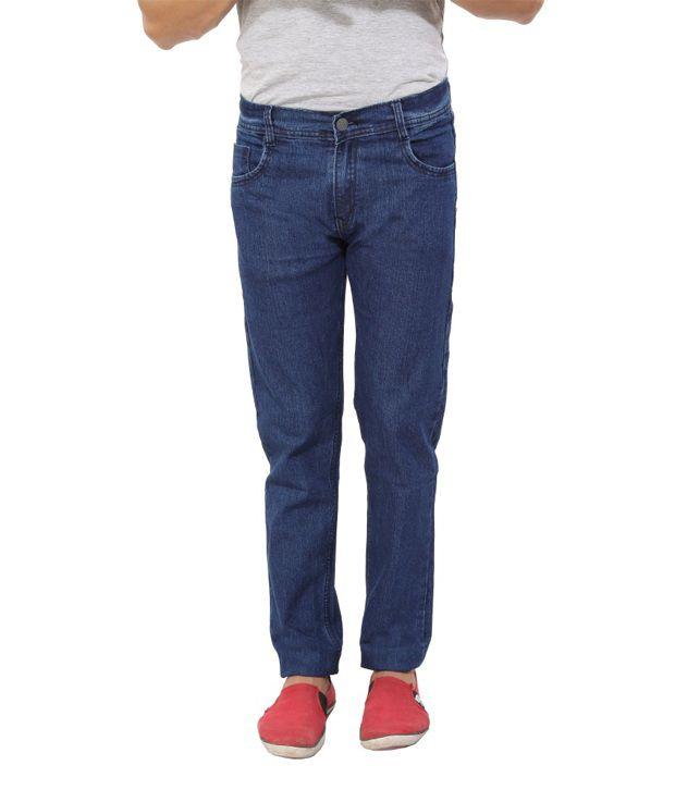 Scarlett Blue Regular Fit Jeans