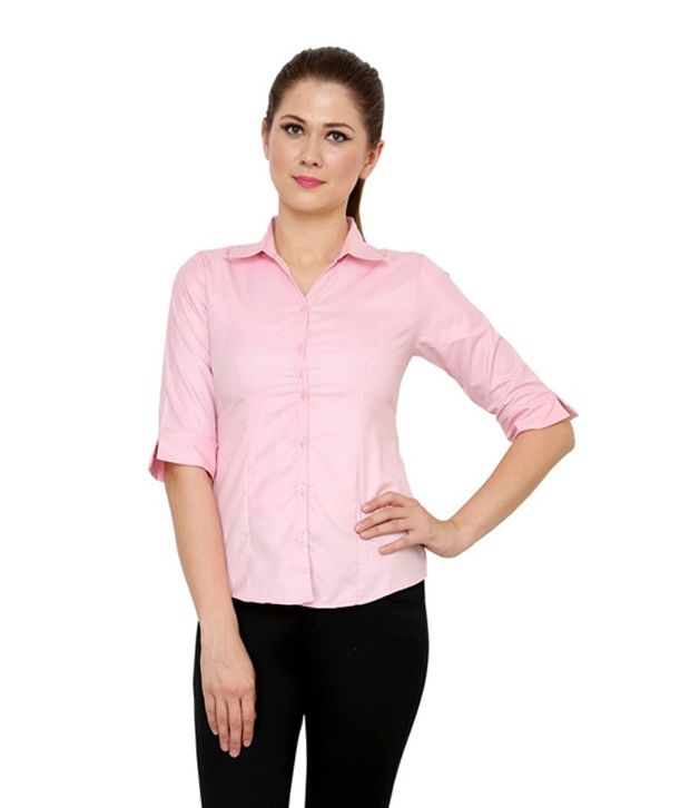 ZX3 Pink Poly Cotton Shirts