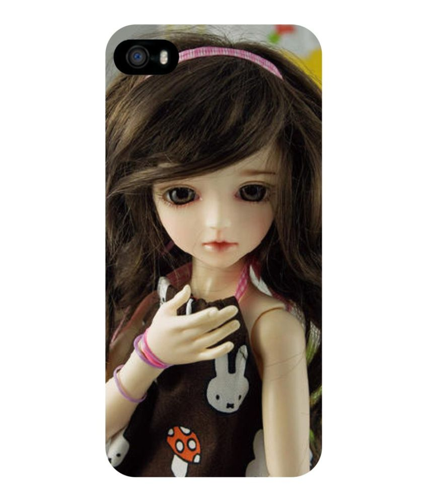 release date 13310 64e1e Dot Print Back Cover For Apple IPhone 6 Cute Barbie Doll Printed Case