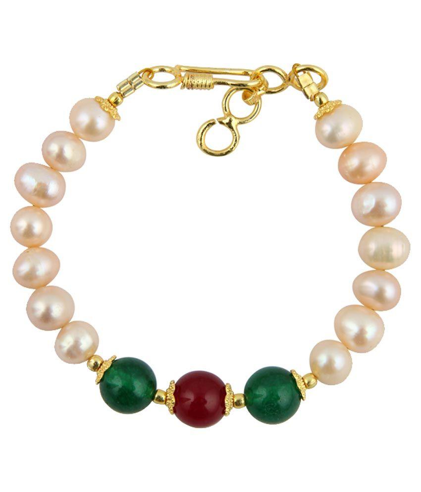 Pearlz Ocean Multi Designer Adjustable Bracelet