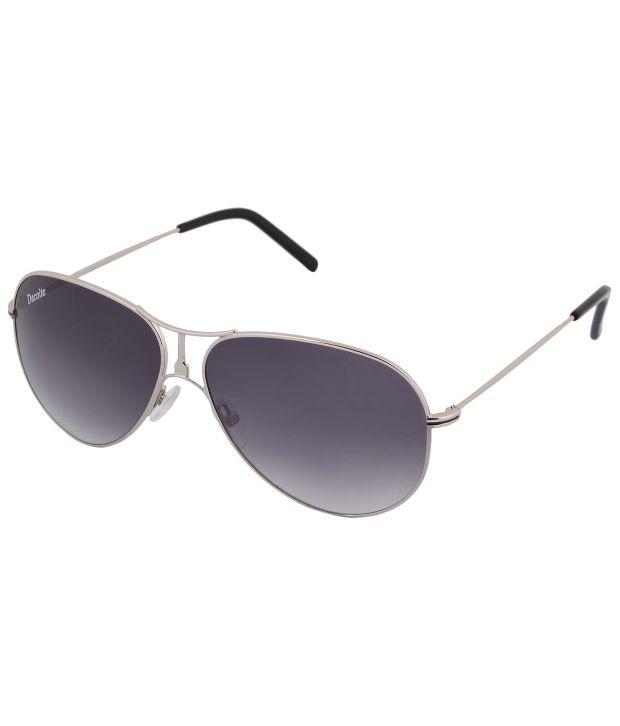 Decoite Eyewear Brown Oversized Sunglasses