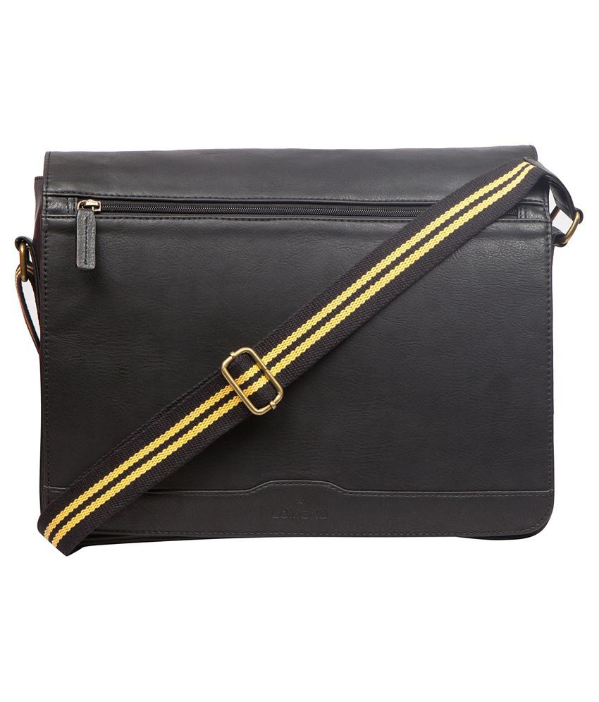 Lomond Black Laptop Bag for Men