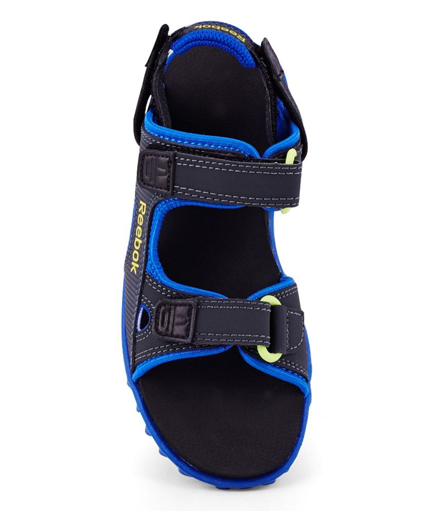 862d338ea5e3 Reebok City Flex Lp Blue Floater Sandals For Kids Price in India ...