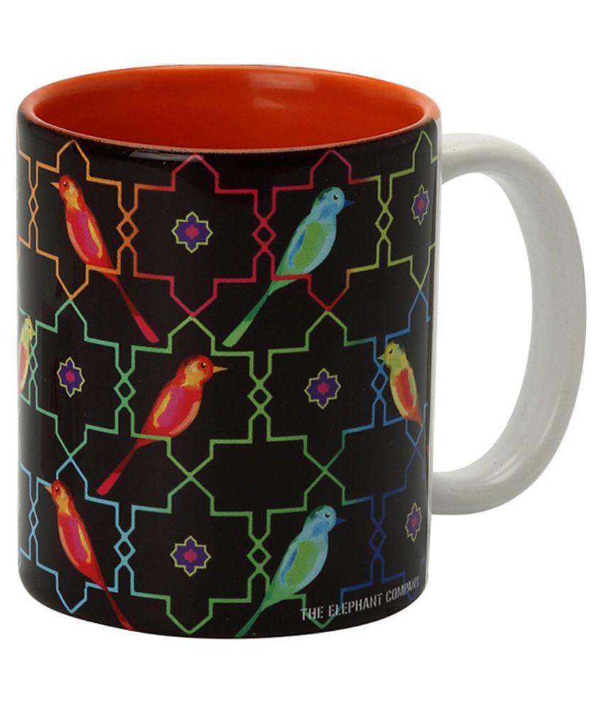 The Elephant Company Multicolor Mug