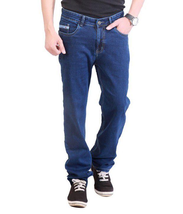 Soft Deals Blue Regular Fit Jeans