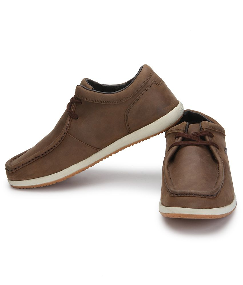 d97a8b32fc07 Woodland Brown Casual Shoes - Buy Woodland Brown Casual Shoes Online ...