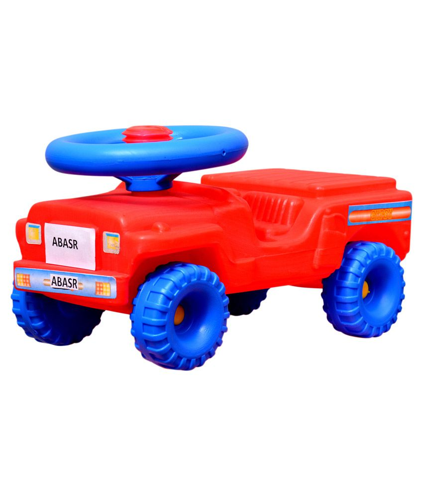 Abasr Red and Blue Baby Jeep