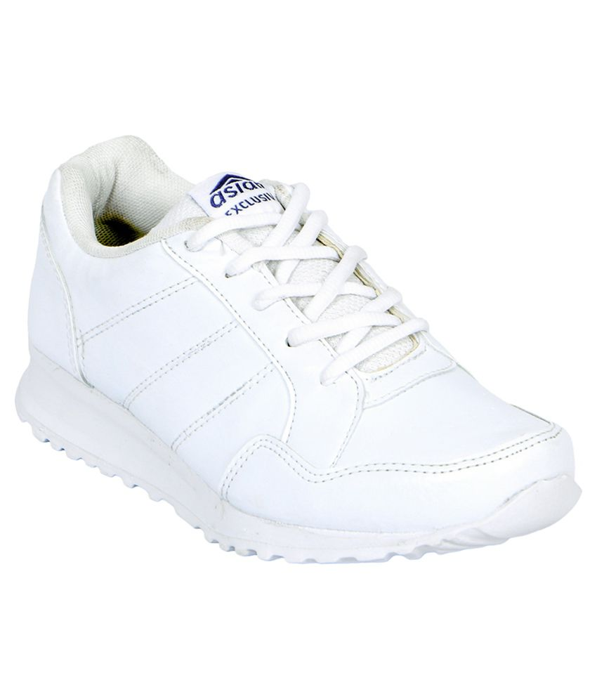 Asian White Sports Shoes For Kids/Boys and Girls Price in ...