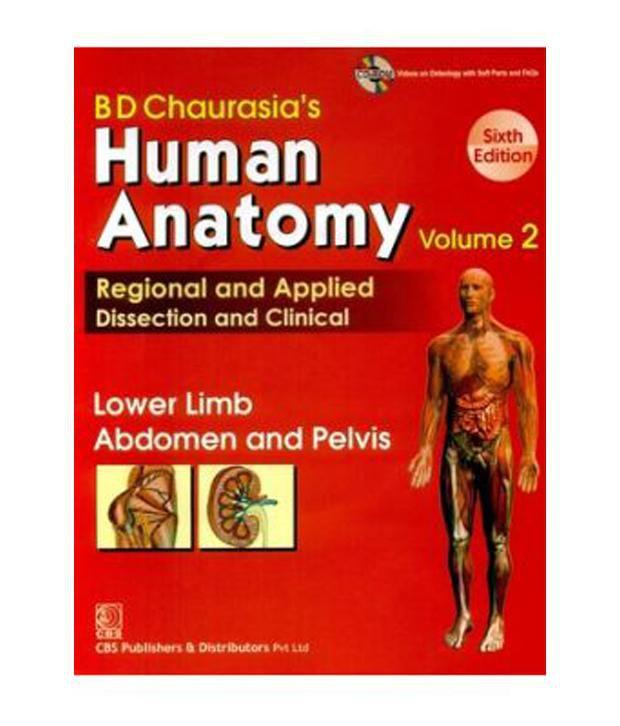 Human Anatomy 6ed Lower Limb Abdomen Pelvis Paperback English