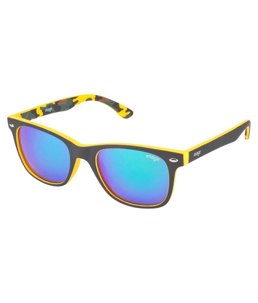 Image Black Frame Wayfarer Shape Sunglasses