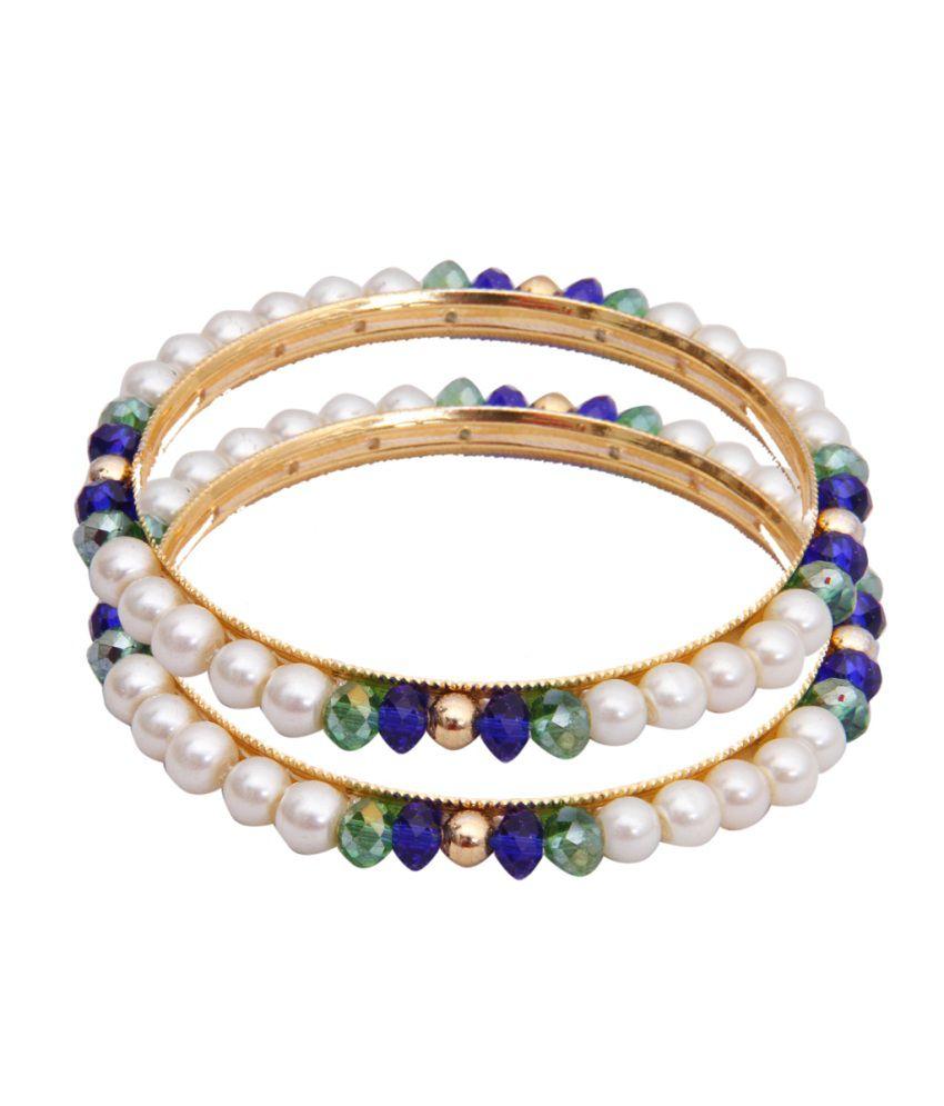 Janki Jewellers Pearls Bangles