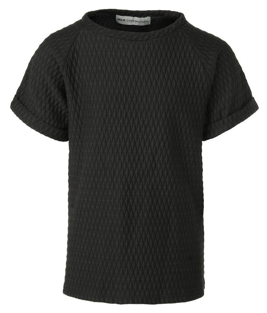 Milk Copenhagen Black Polyester Sweatshirt