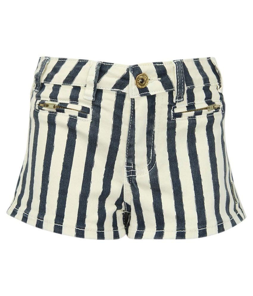 Milk Copenhagen Navy Striped Shorts
