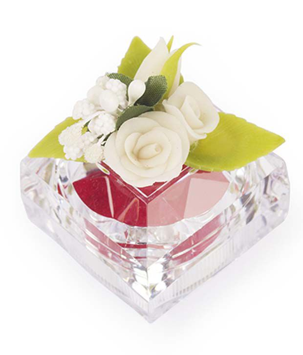 I-am White Floral Ginni Box