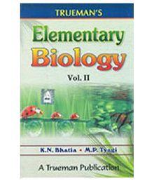 Trueman's Elementary Biology Paperback (English) 2016