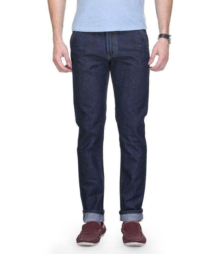 D&N Blue Slim Fit Jeans