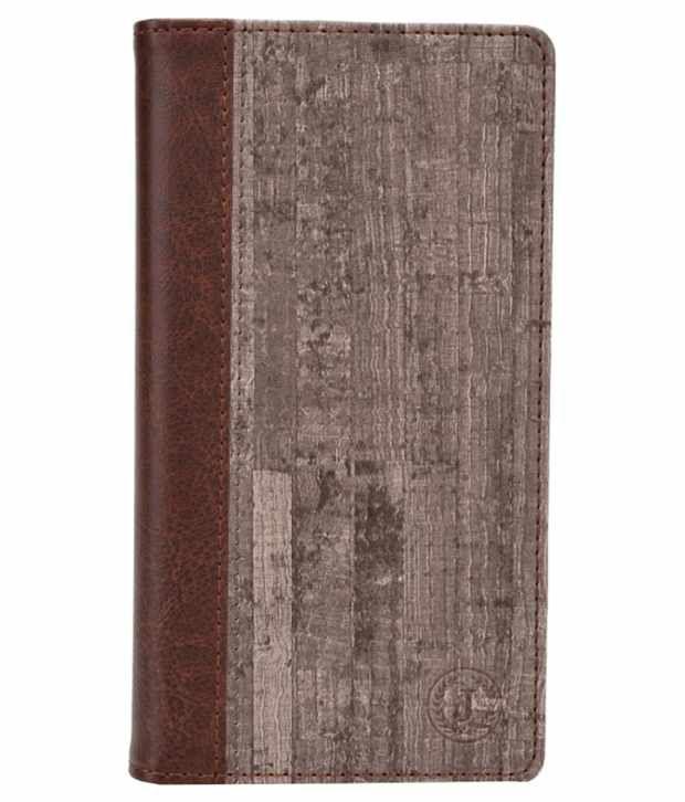 Jo Jo Flip Cover For Huawei Ascend Y520 - Brown