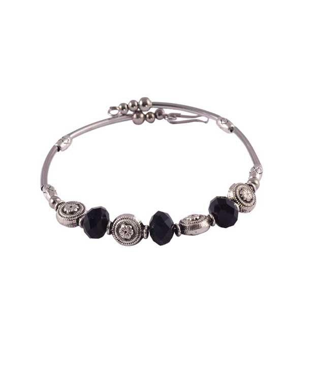 Nirosha Silver Alloy Bracelet
