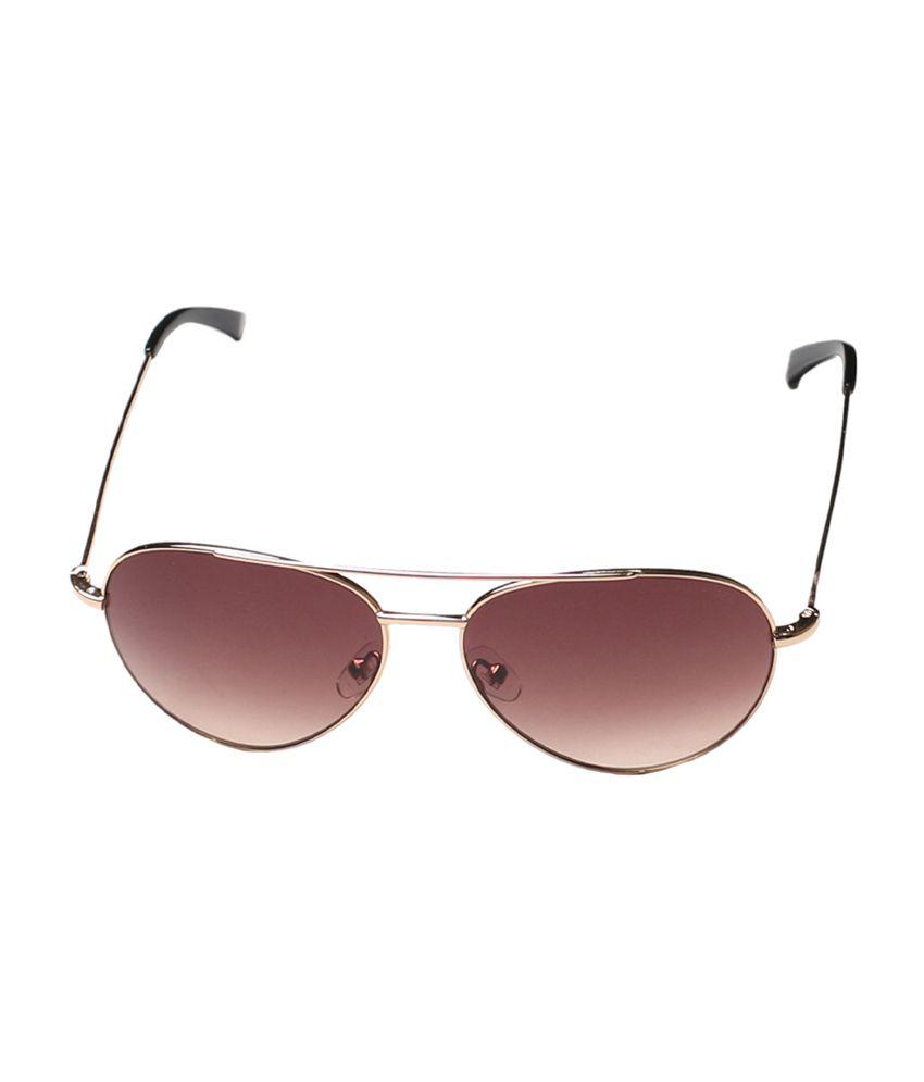 Tommy Hilfiger Brown Unisex Aviator Sunglasses (TH7776_C1_55)