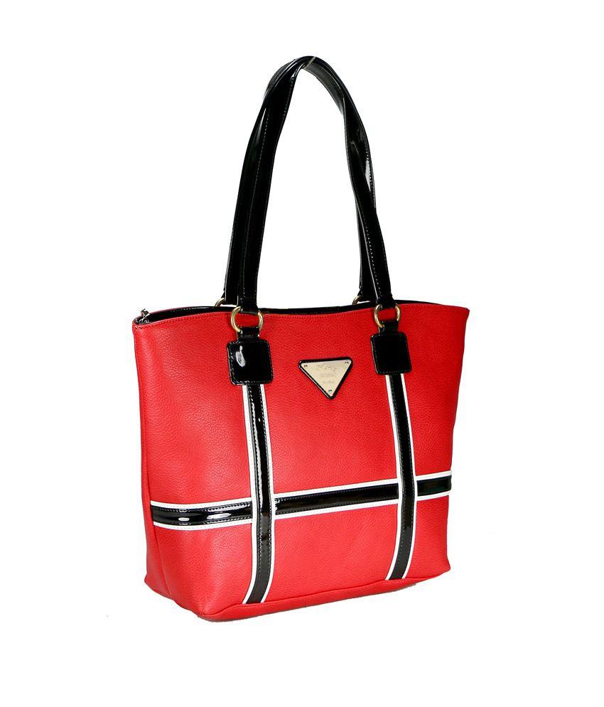 Wenz Red Shoulder Bag