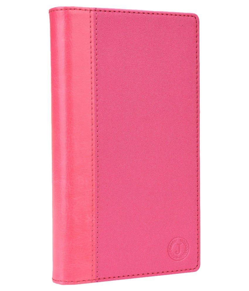 Jo Jo Flip Cover for HTC One (M8 Eye) - Pink