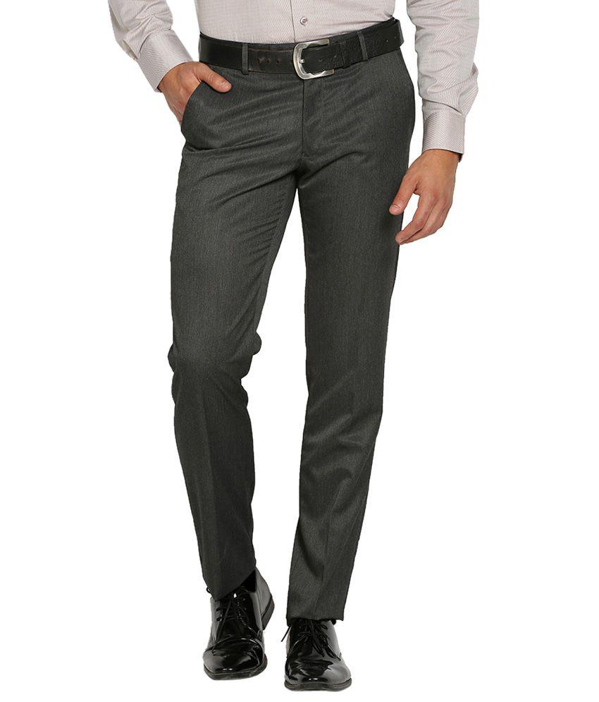 Black Coffee Black Regular Fit Trousers