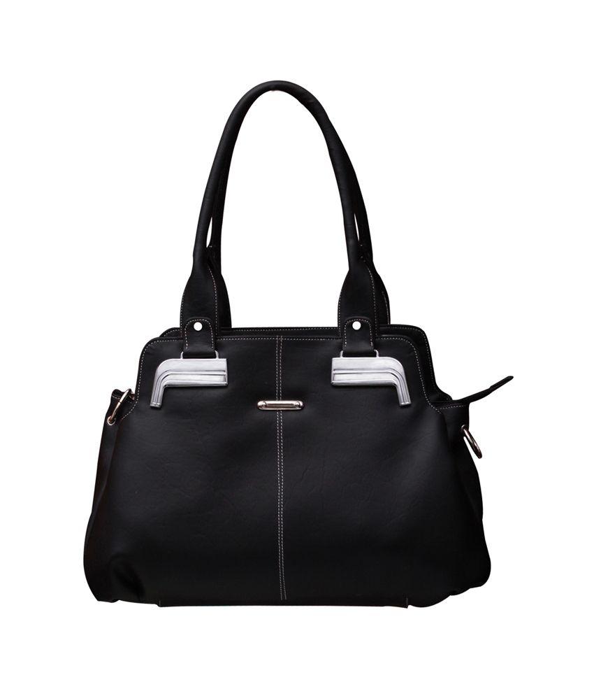 Fostelo Black Shoulder Bag