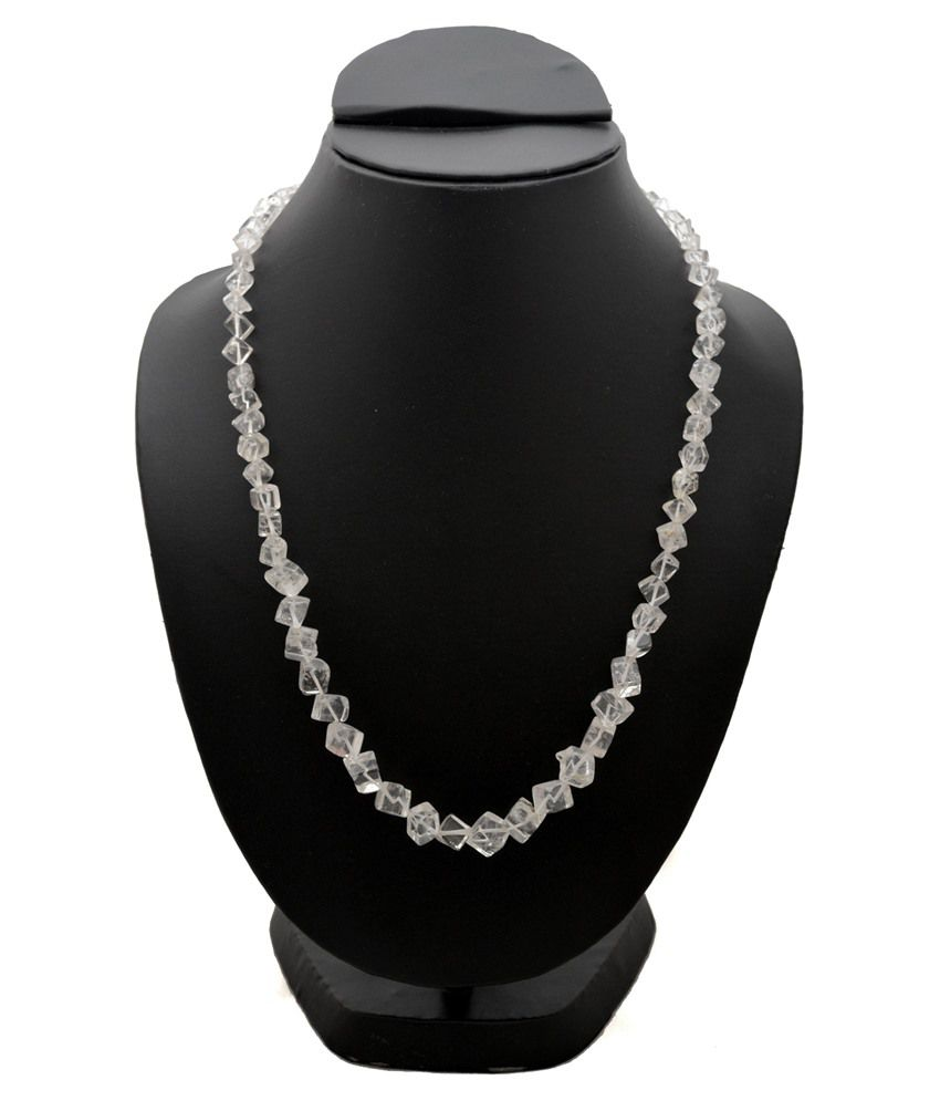 Gemzz And Jewels Clear 9Kt Necklace